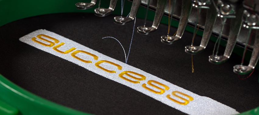 example of embroidery