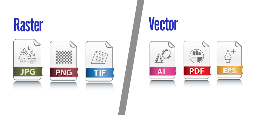 image of different file format icons
