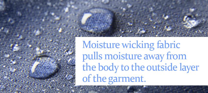 close up of rain pooling on fabric